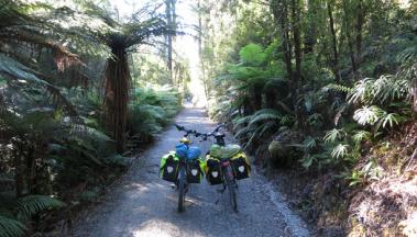 Neuseeland Durchquerung der Nordinsel und Südinsel mit dem Rad